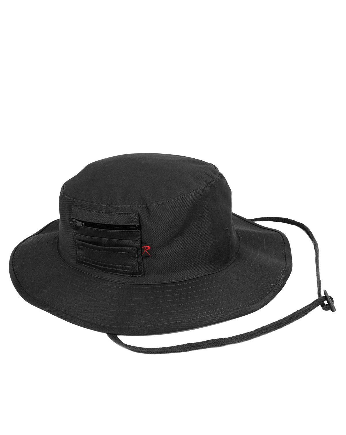 Image of   Rothco MA-1 Boonie Hat (Sort, US 7.0 / EU 56 cm)