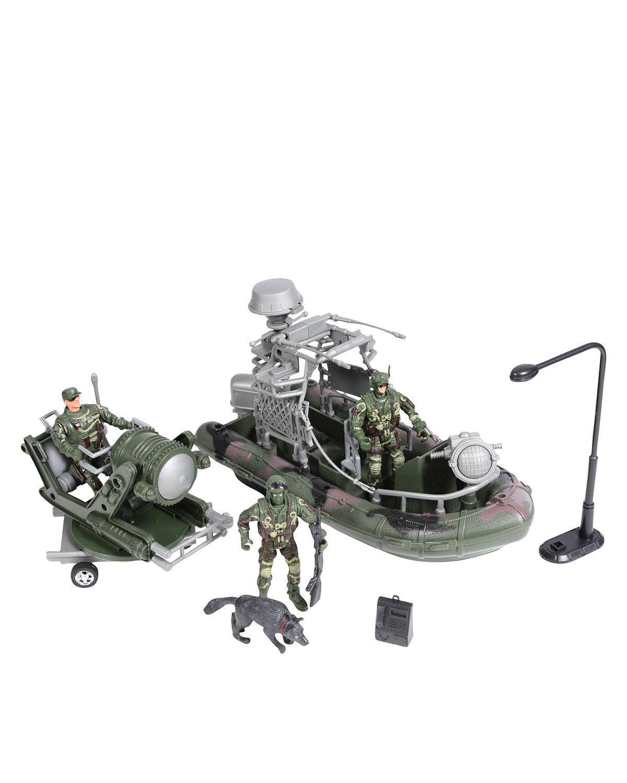 Rothco Militärt Leksaks-set för Barn (Olivgrön, One Size)