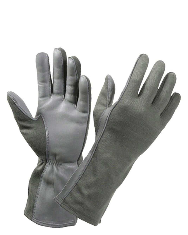 Rothco Military Aviators Flight Gloves (Foliage Green, 9)