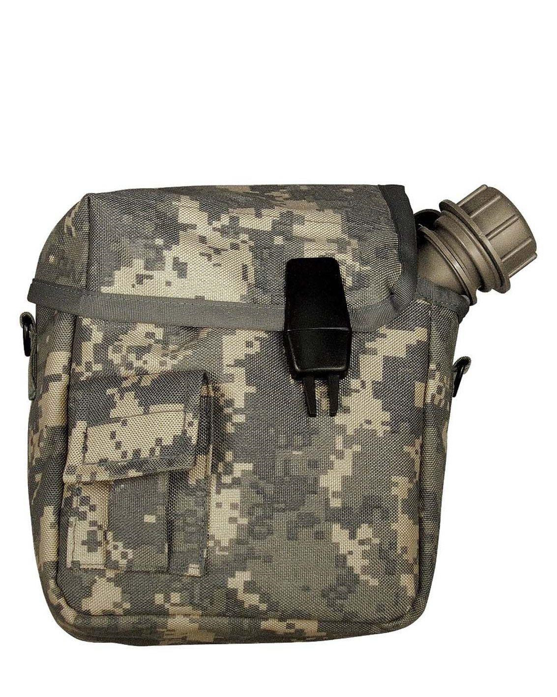 Image of   Rothco MOLLE 2 QT. Bladder Canteen Cover (ACU Camo, One Size)