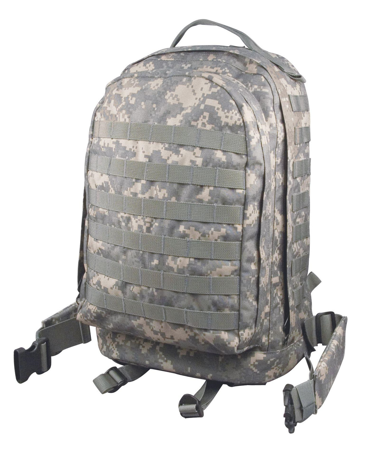 Image of   Rothco MOLLE 3-day Assault Pack (ACU Camo, One Size)