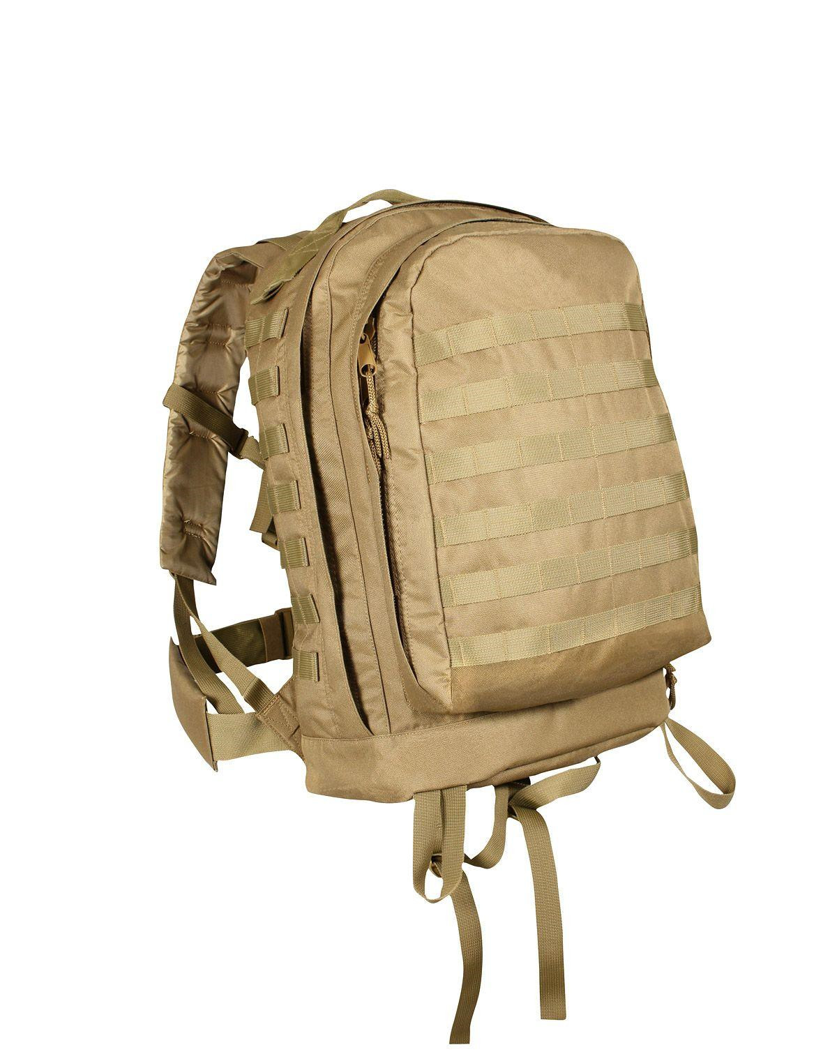 Image of   Rothco MOLLE 3-day Assault Pack (Coyote Brun, One Size)