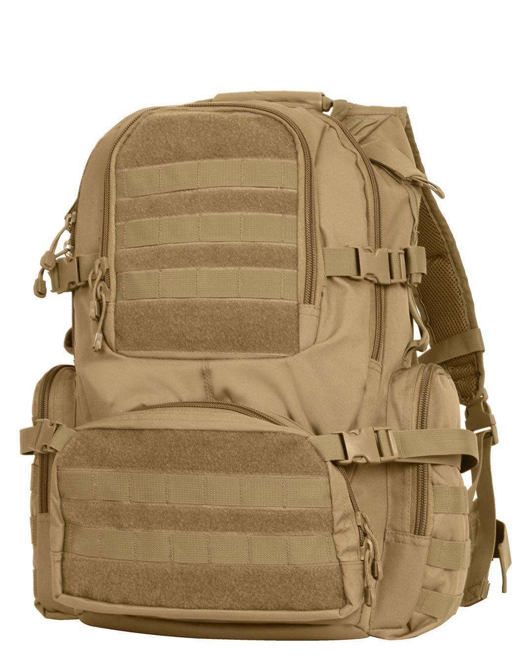 Image of   Rothco MOLLE Assault Pack - Next Level (Coyote Brun, One Size)