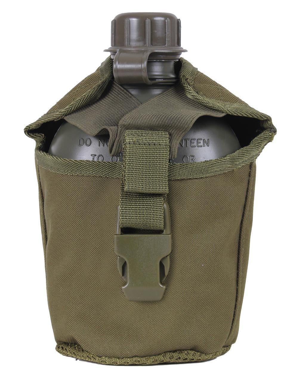 Image of   Rothco MOLLE Drikkedunk Etui 1 Liter (Oliven, One Size)