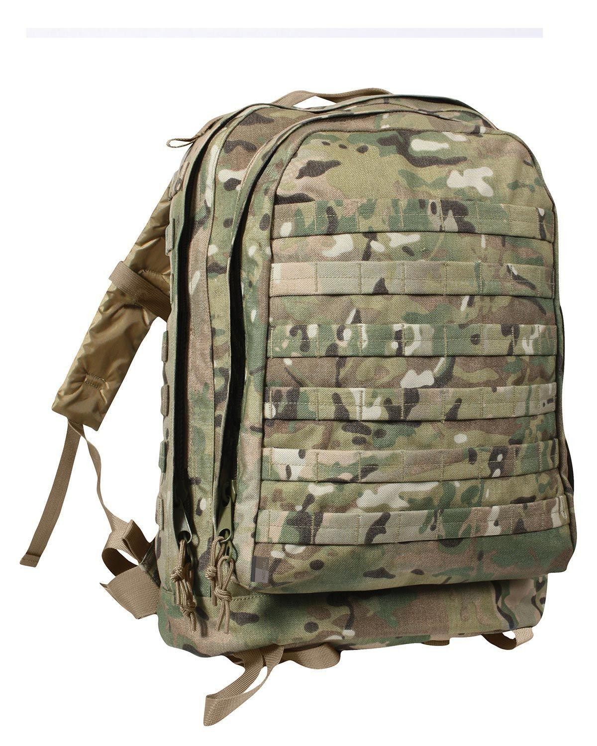 Image of   Rothco MOLLE II 3-Day Assault Pack (Multicam, One Size)