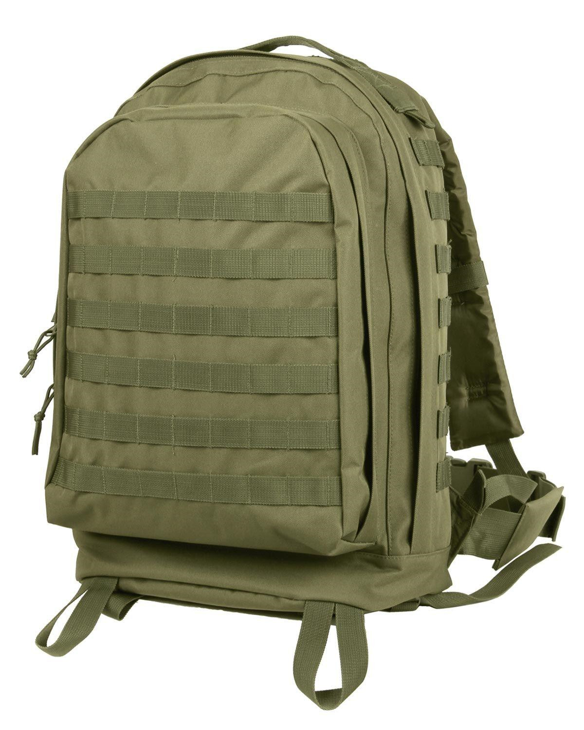Image of   Rothco MOLLE II 3-Day Assault Pack (Oliven, One Size)