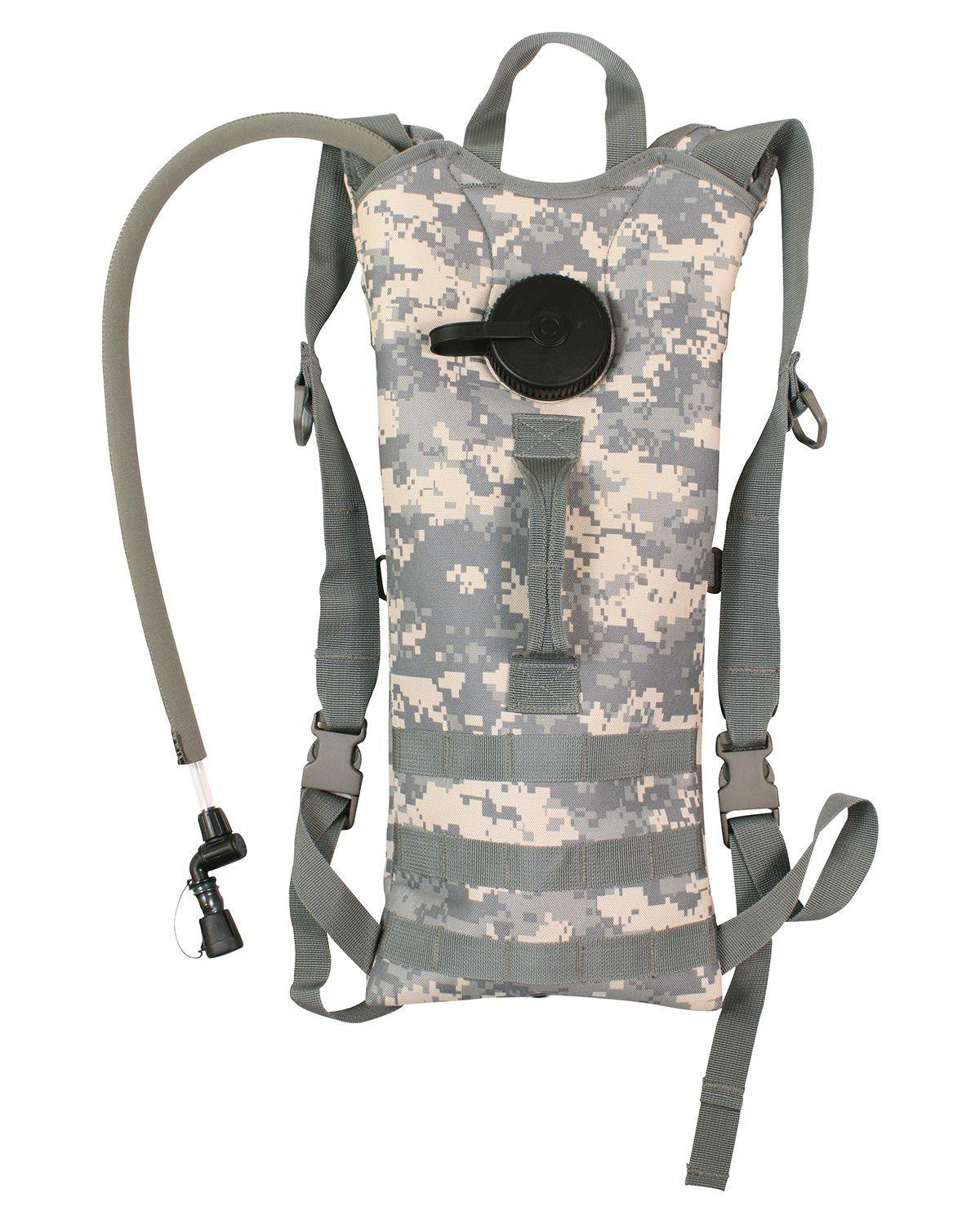 Image of   Rothco MOLLE Vandbeholder Hydration Rygsæk - 3 Liter (ACU Camo, One Size)