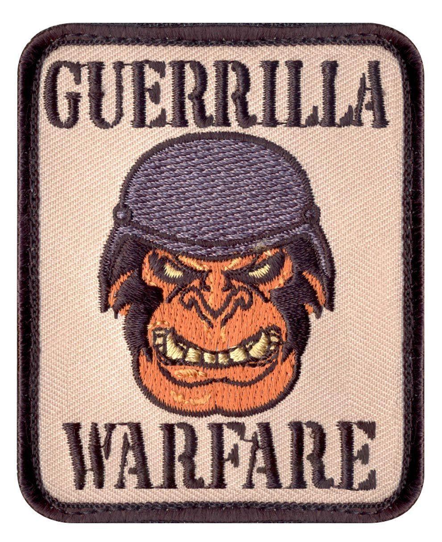 Rothco Moral Patch - 'Guerrilla Warfare' (Khaki, One Size)