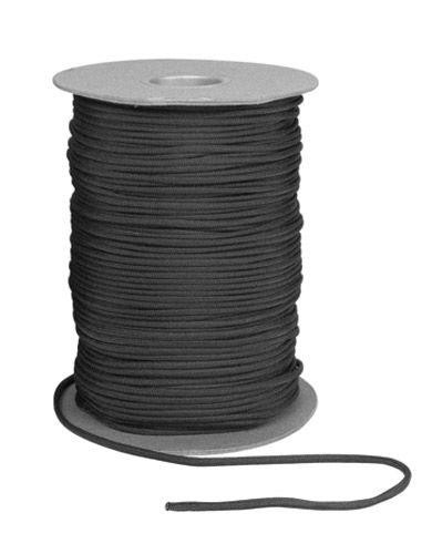 Image of   Rothco Nylon Paracord 550lb 600ft (182m) på rulle (Sort, One Size)