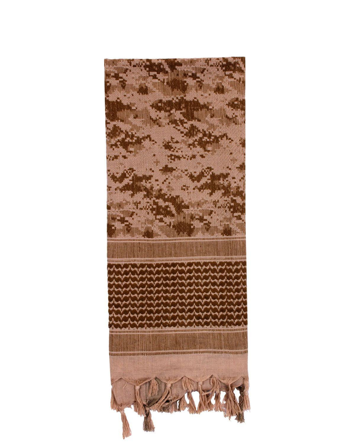 Image of   Rothco Partisan Tørklæde (Desert Digital Camo, One Size)