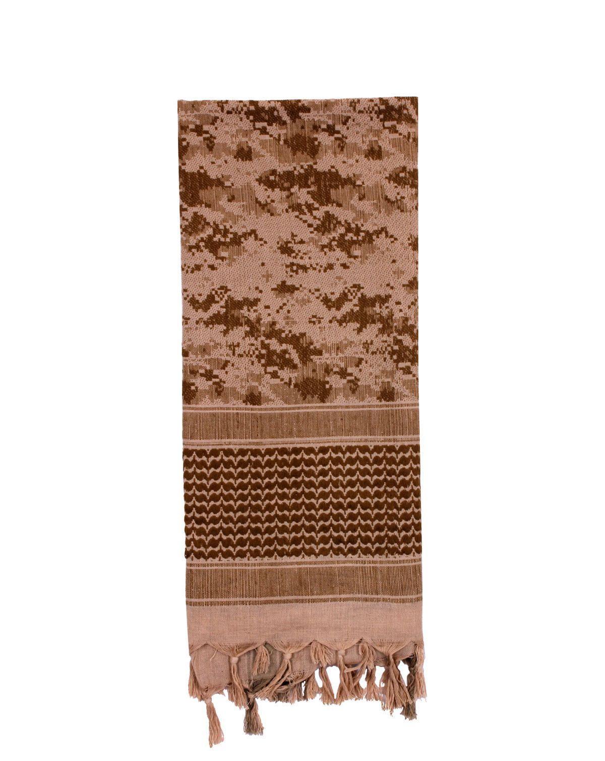 Image of   Rothco Partisan Tørklæde (Desert Digital Camo, One Size)