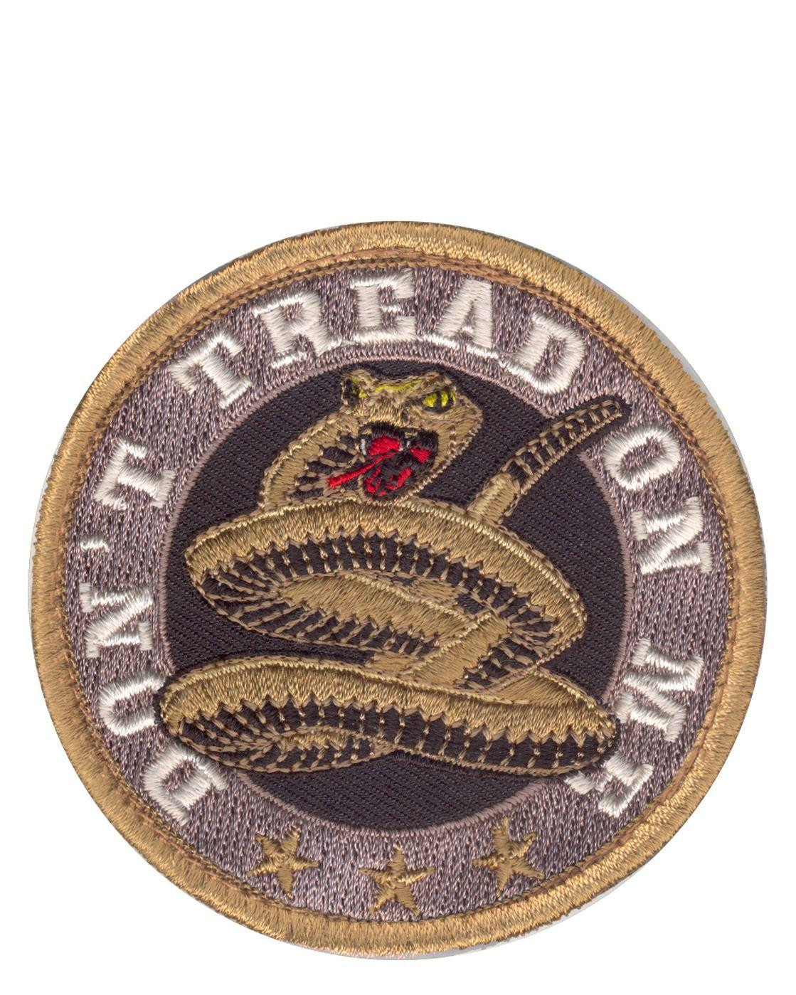 Rothco Patch - 'Don't Tread On Me' (Khaki, One Size)