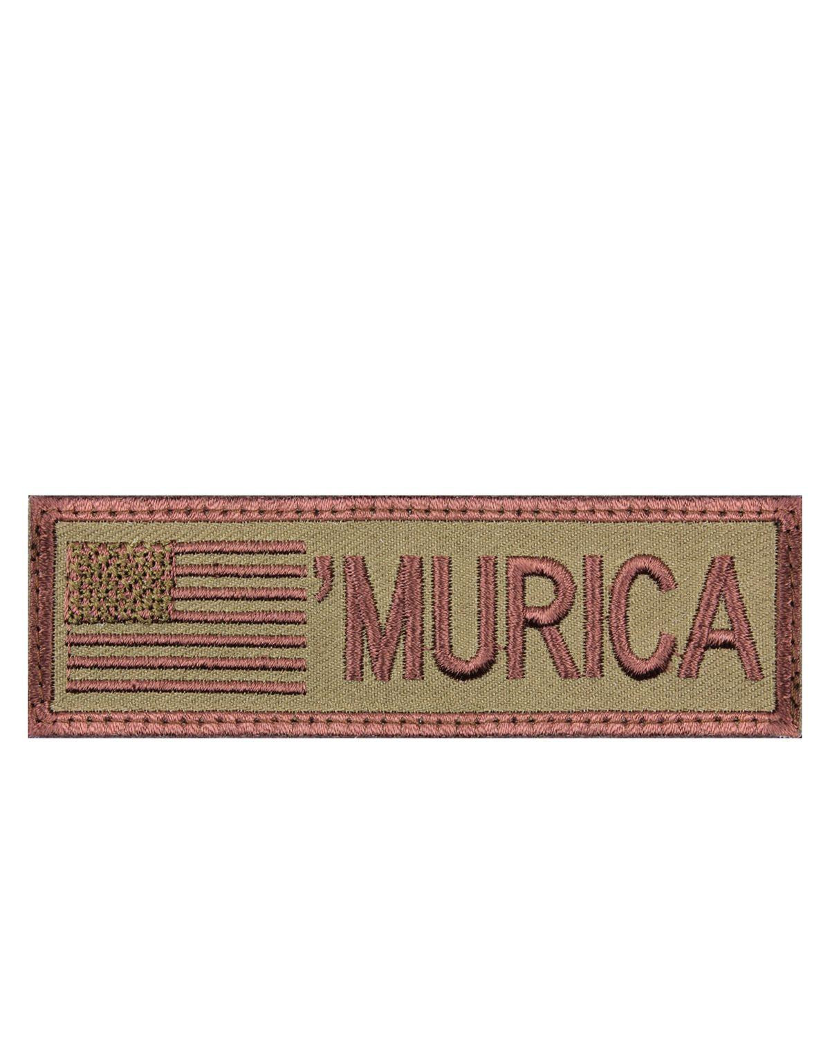 Rothco Patch - 'MURICA' (Khaki, One Size)