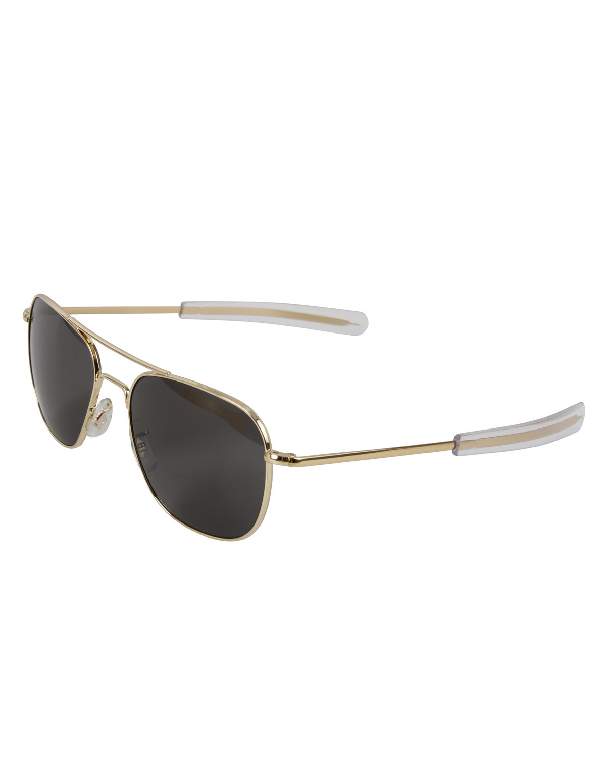 Rothco Pilots Solglasögon American Optical Original 52MM (Gold w. Grey Lens, 52)
