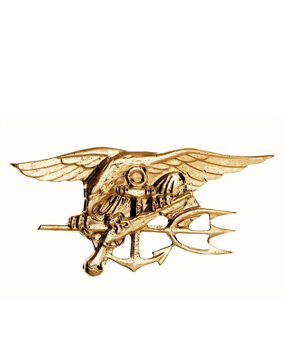 Image of   Rothco Pin - Navy Seals (Guld, One Size)
