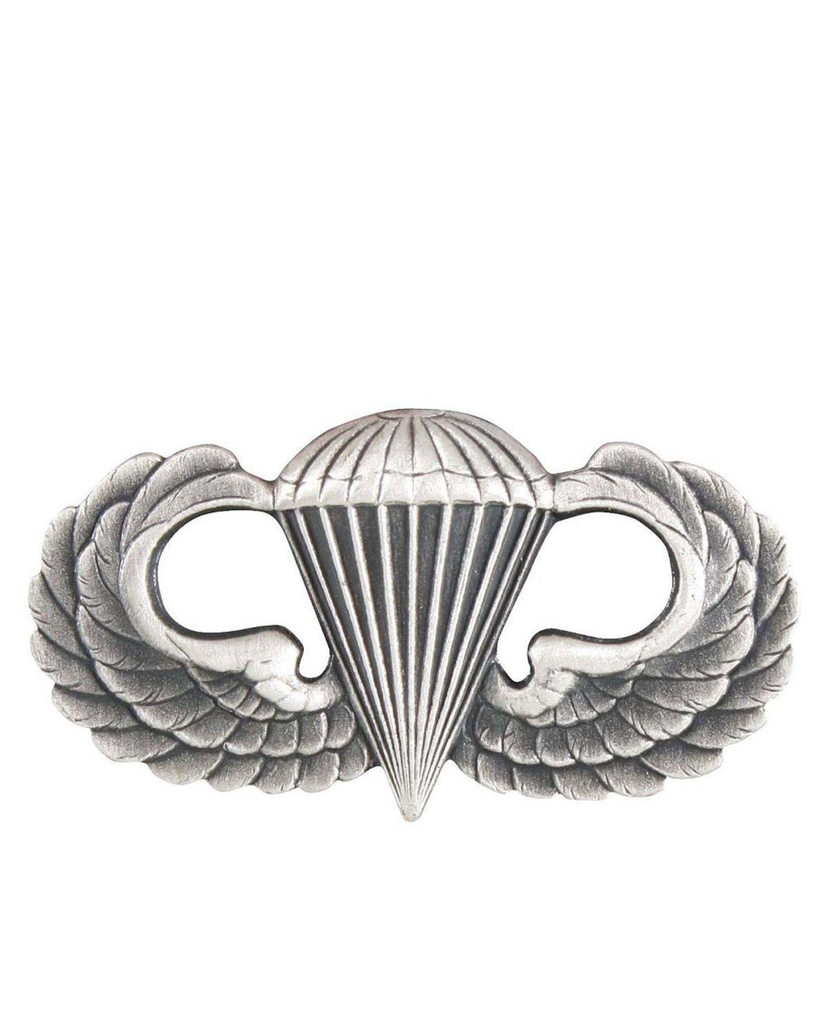 Image of   Rothco Pin/Nål - U.S. Parawing (Sølv Grå, One Size)