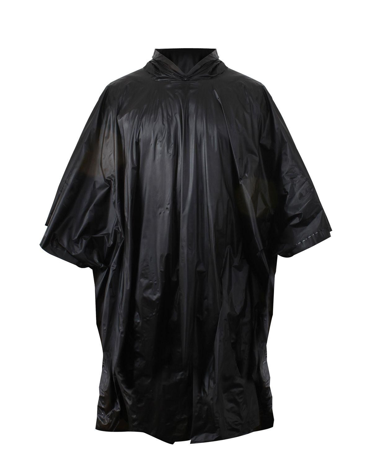Image of   Rothco Poncho i Ripstop (Sort, One Size)