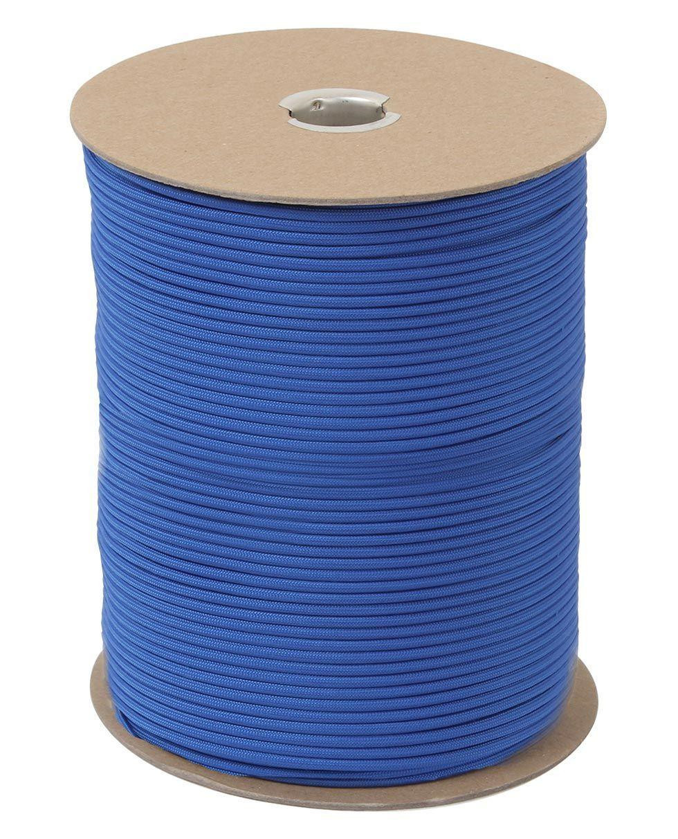 Image of   Rothco Rulle m. 304m./1000ft Paracord - 550lb (Kongeblå, One Size)
