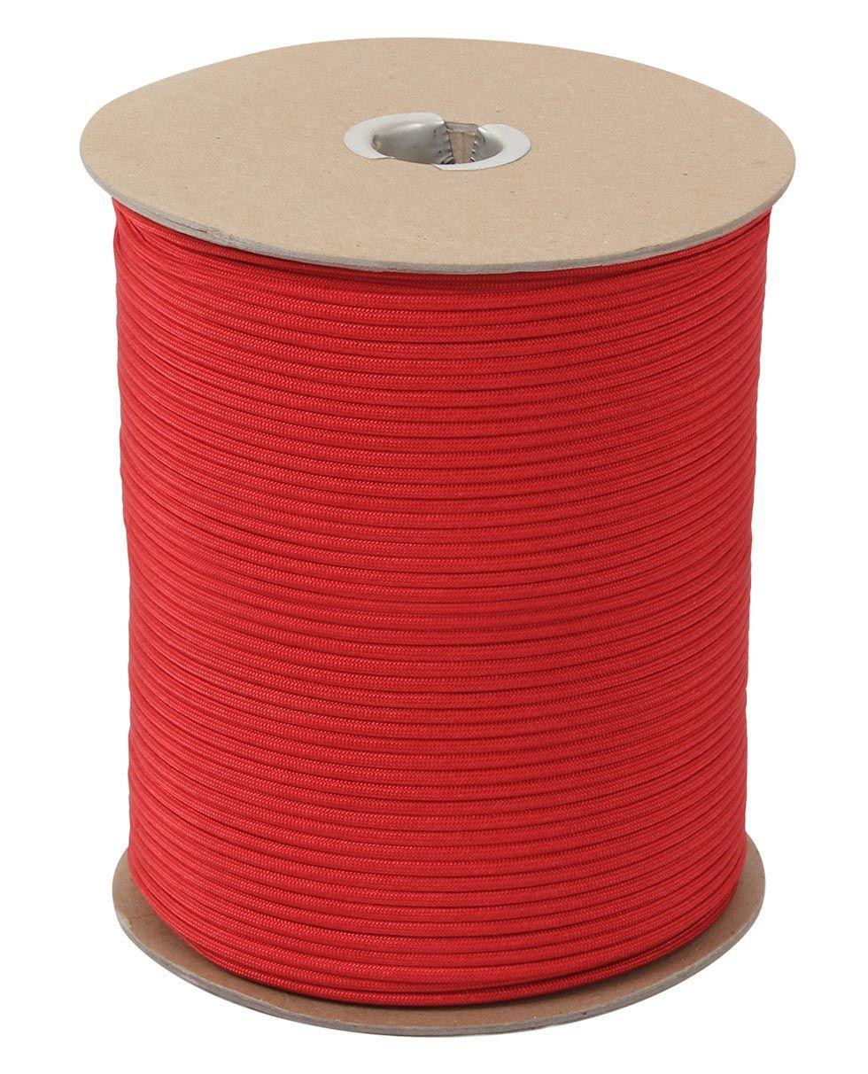 Image of   Rothco Rulle m. 304m./1000ft Paracord - 550lb (Rød, One Size)
