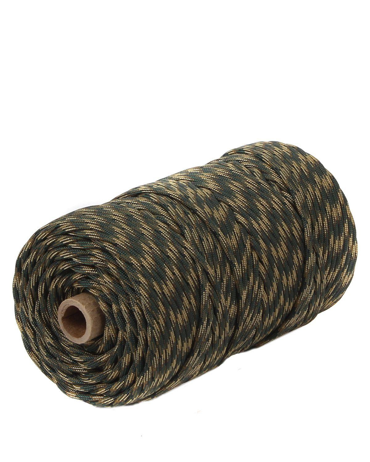 Image of   Rothco Rulle m. 91m/300ft Paracord - 550lb (Woodland, One Size)