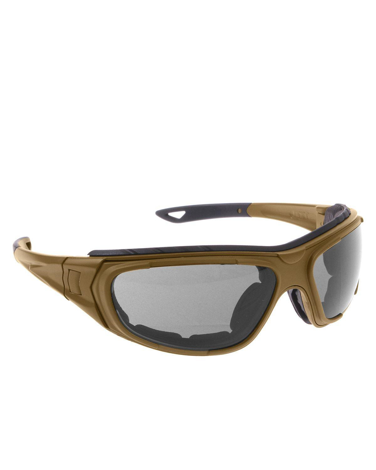 Image of   Rothco Solbriller/Goggle - UV400 (Coyote Brun, One Size)