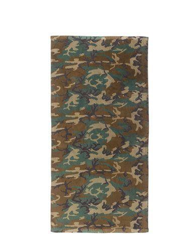 Billede af Rothco Strandhåndklæder (Woodland, One Size)
