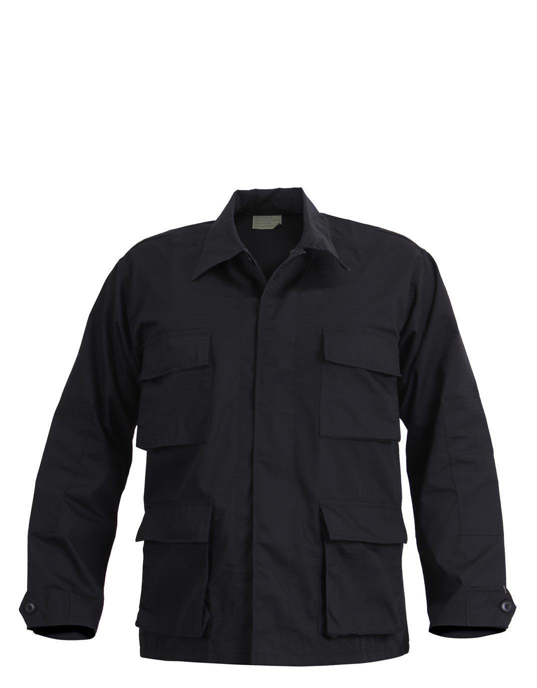 Image of   Rothco SWAT BDU Skjorte (Sort, M)