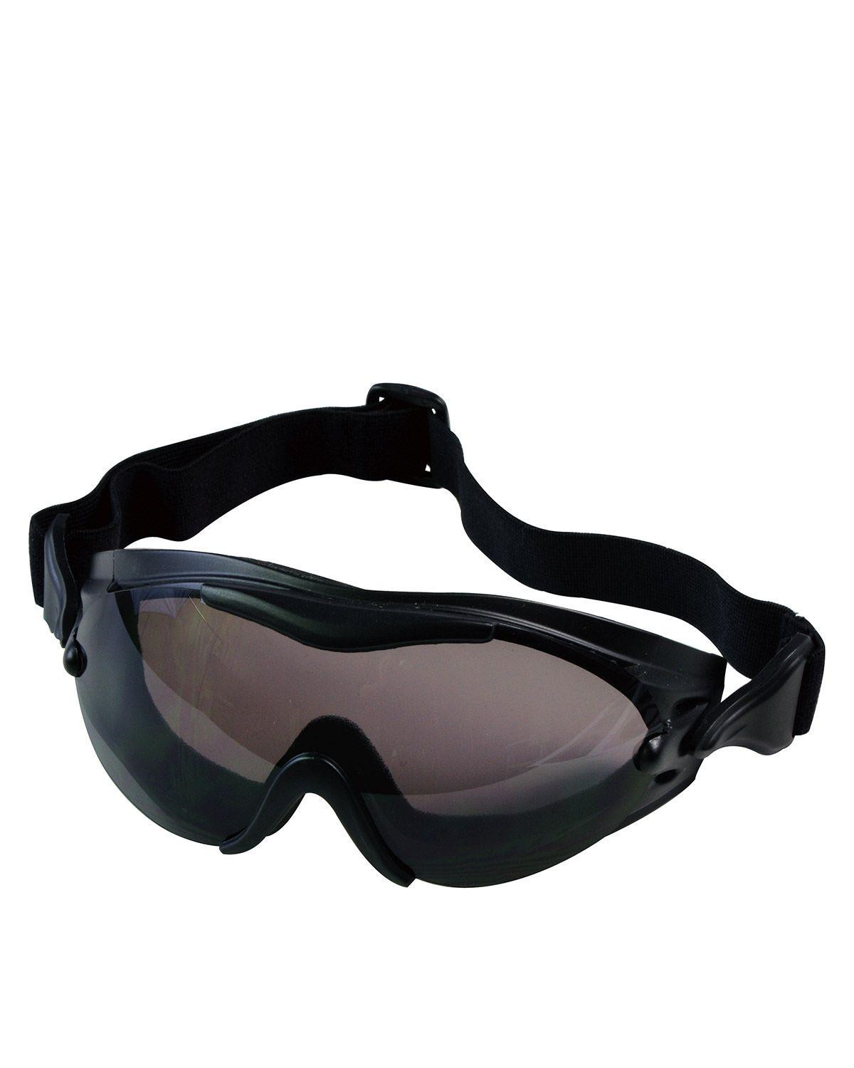 Image of   Rothco SWAT Taktisk Goggle (Sort, One Size)