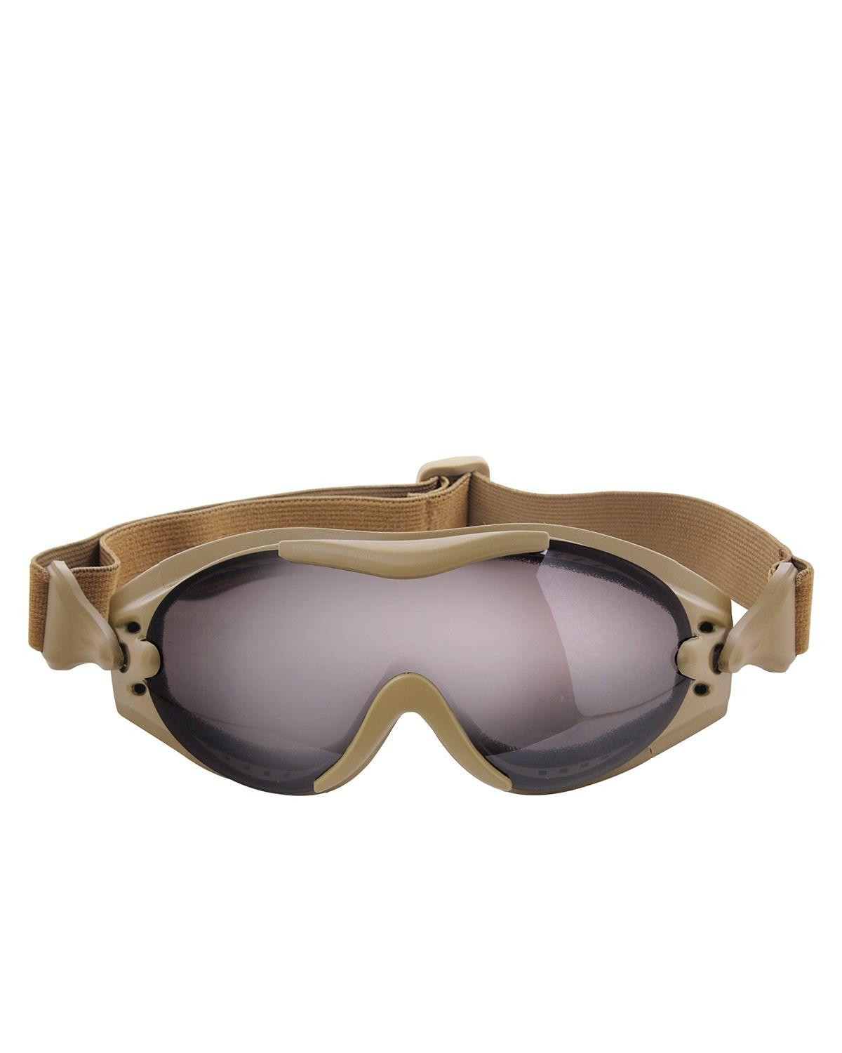 Image of   Rothco SWAT Taktisk Goggle (Coyote Brun, One Size)