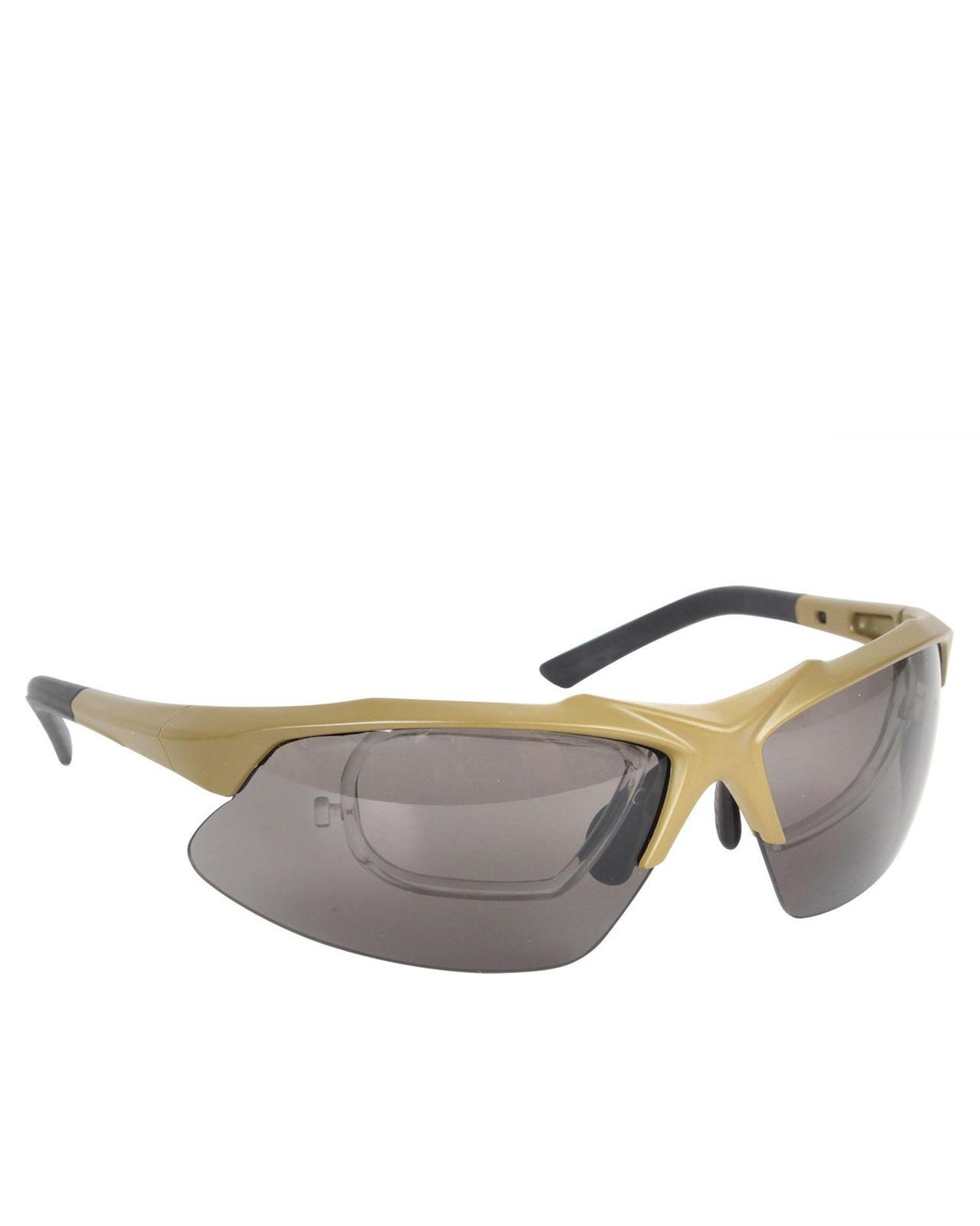 Image of   Rothco Taktisk Solbriller Med Udskiftelige Linser (Coyote Brun, One Size)