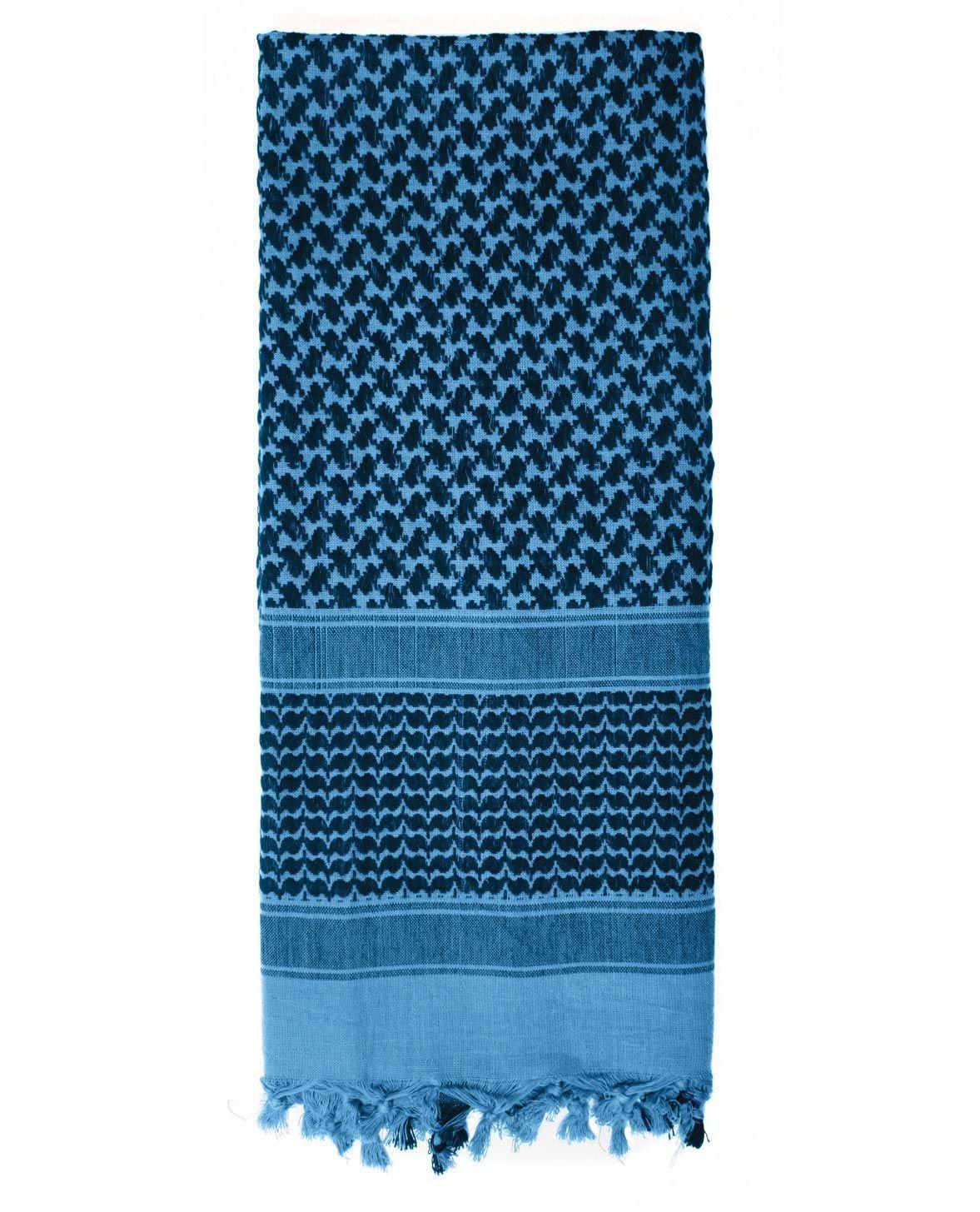 Image of   Rothco Taktisk Tørklæde, Letvægt (Blå / Sort, One Size)