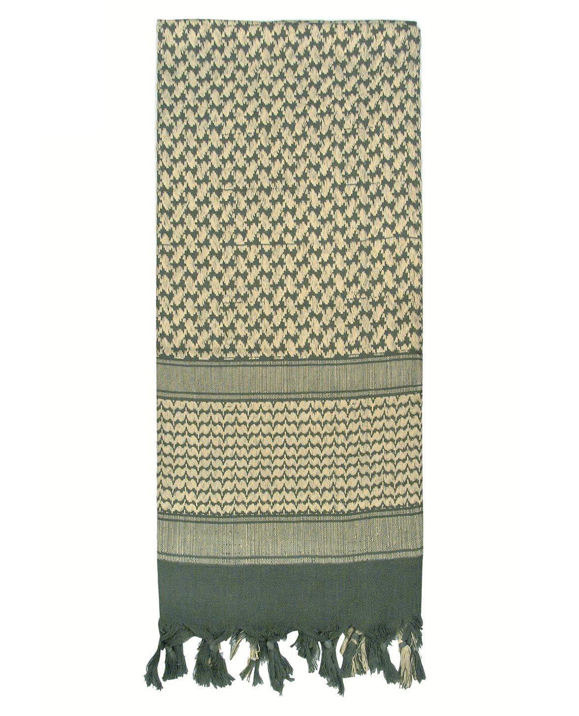 Image of   Rothco Taktisk Tørklæde, Letvægt (Blad Grøn, One Size)