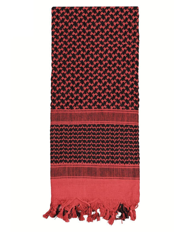 Image of   Rothco Taktisk Tørklæde, Letvægt (Rød / Sort, One Size)