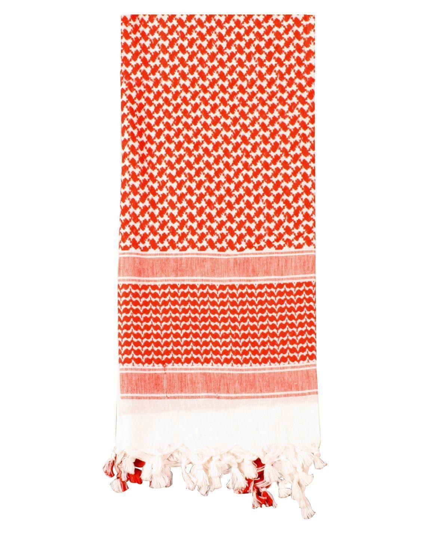 Image of   Rothco Taktisk Tørklæde, Letvægt (Rød / Hvid, One Size)