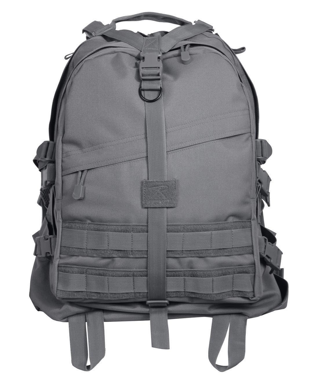 Rothco Taktisk Transportryggsäck (Dark Grey, One Size)