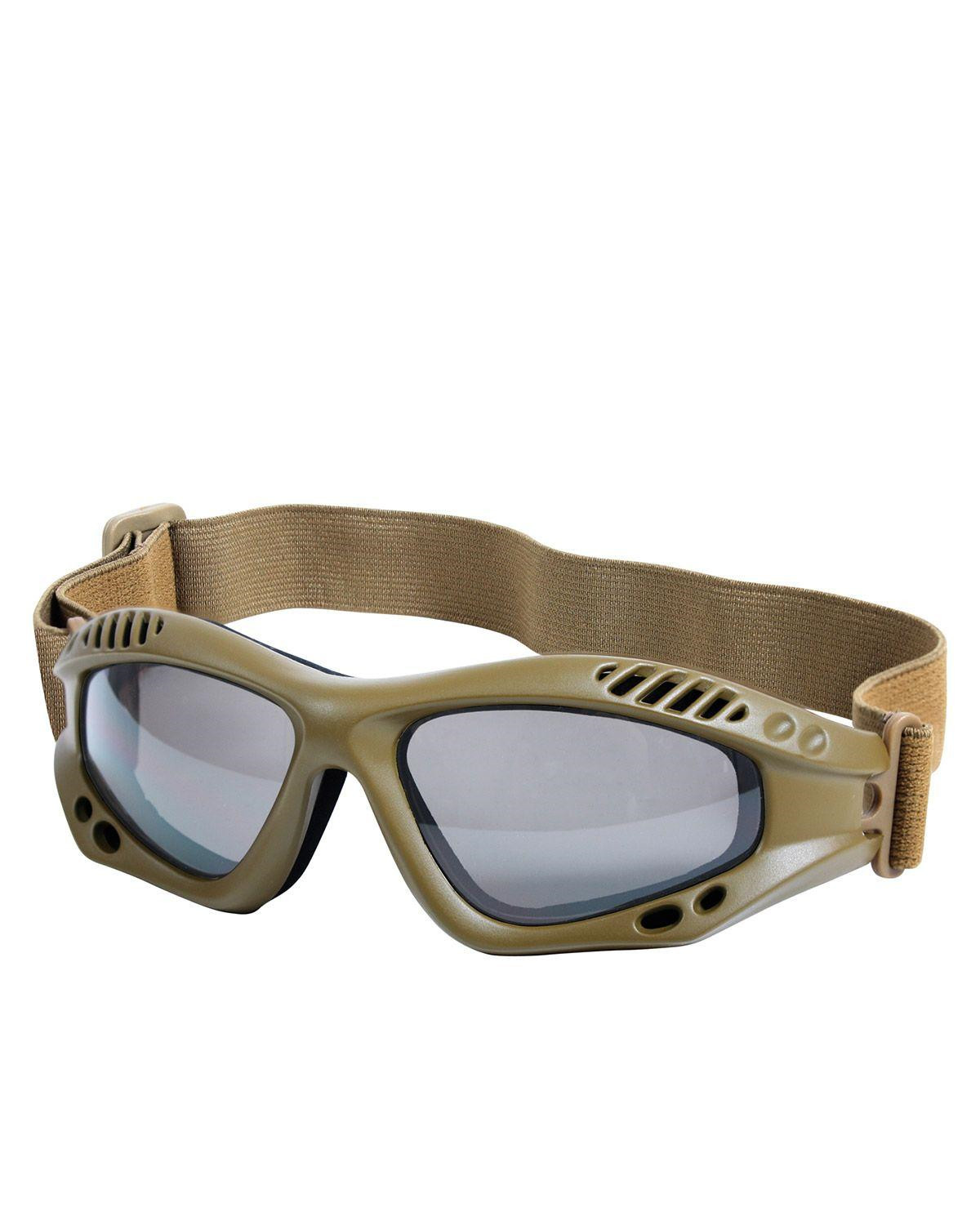 Image of   Rothco Taktiske Goggles, Ventec (Coyote Brun, One Size)