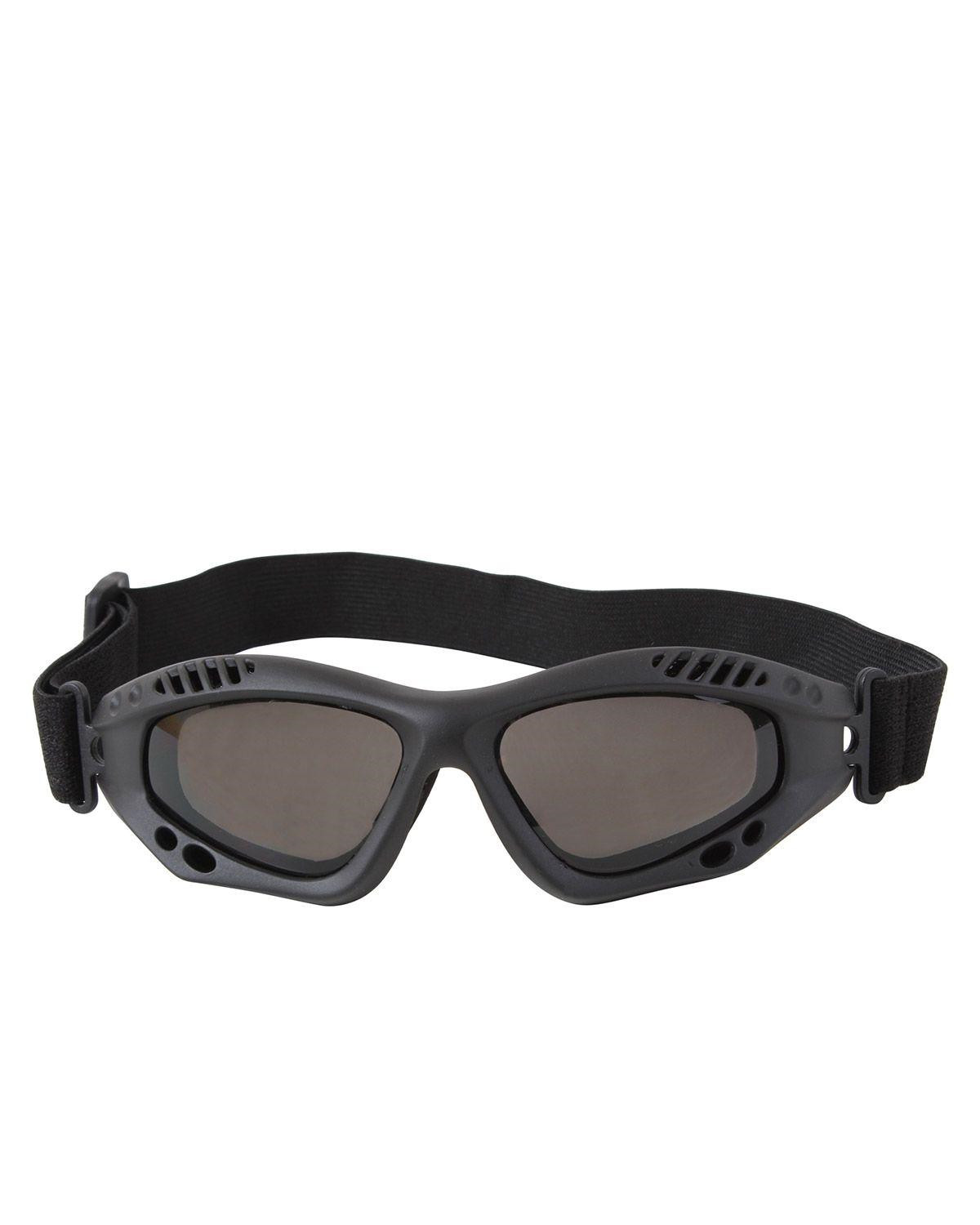 Image of   Rothco Taktiske Goggles, Ventec (Sort, One Size)