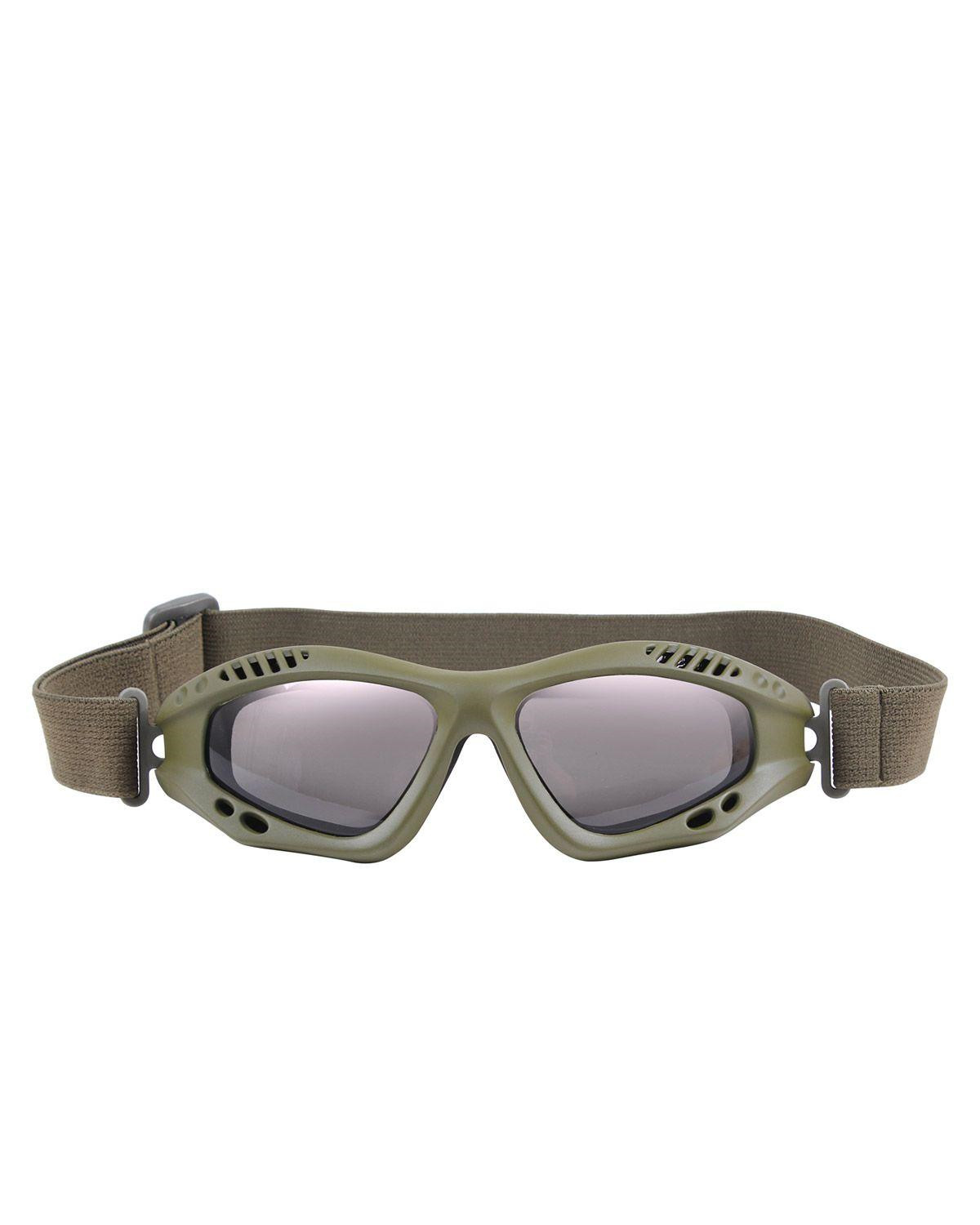 Image of   Rothco Taktiske Goggles, Ventec (Oliven, One Size)
