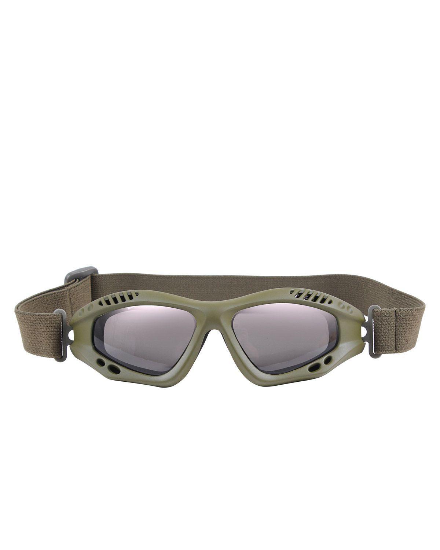 Image of   Rothco Taktiske Goggles, Ventec (Oliven, One Size)