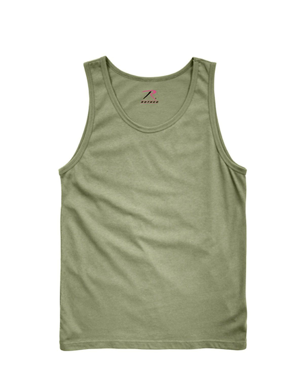 Image of   Rothco Tank Top (Oliven, S)