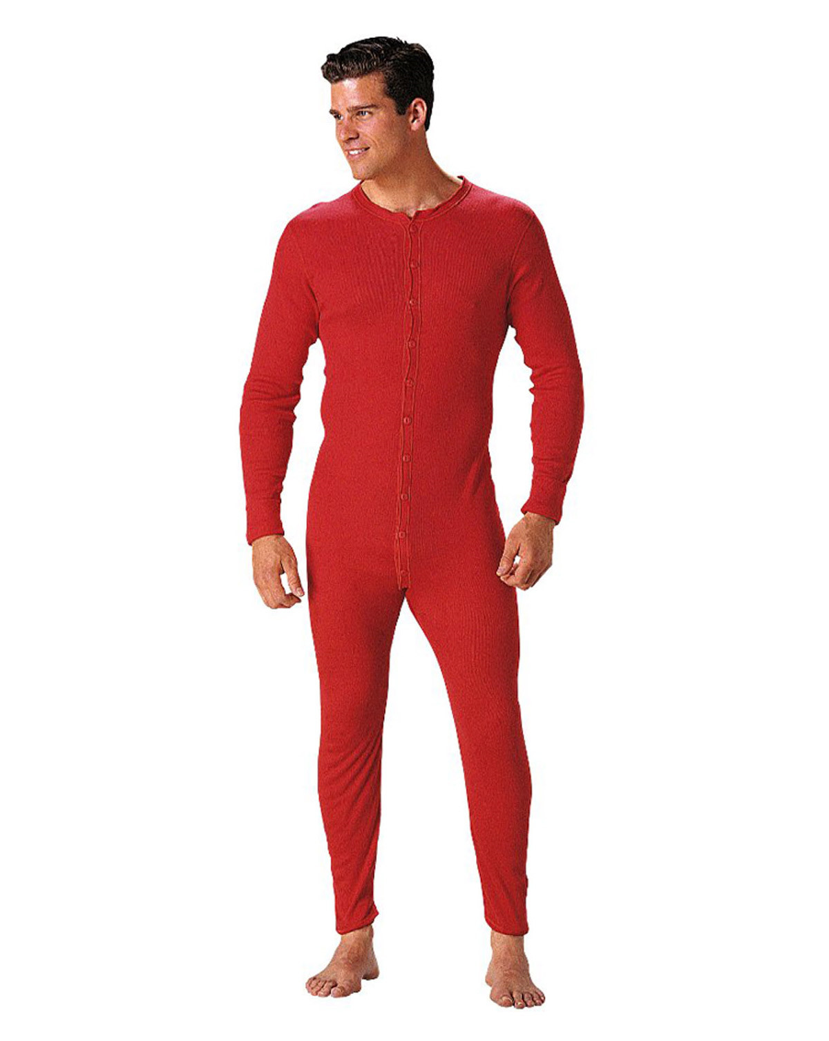 Image of   Rothco Union Suit (Rød, 2XL)