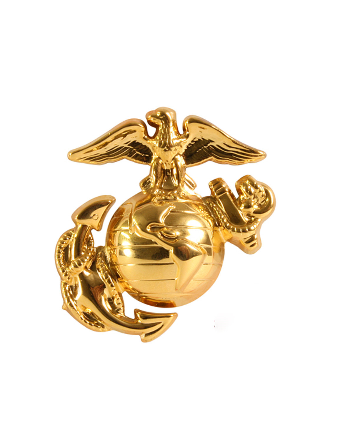 Image of   Rothco U.S.M.C. Pin (Messing, One Size)