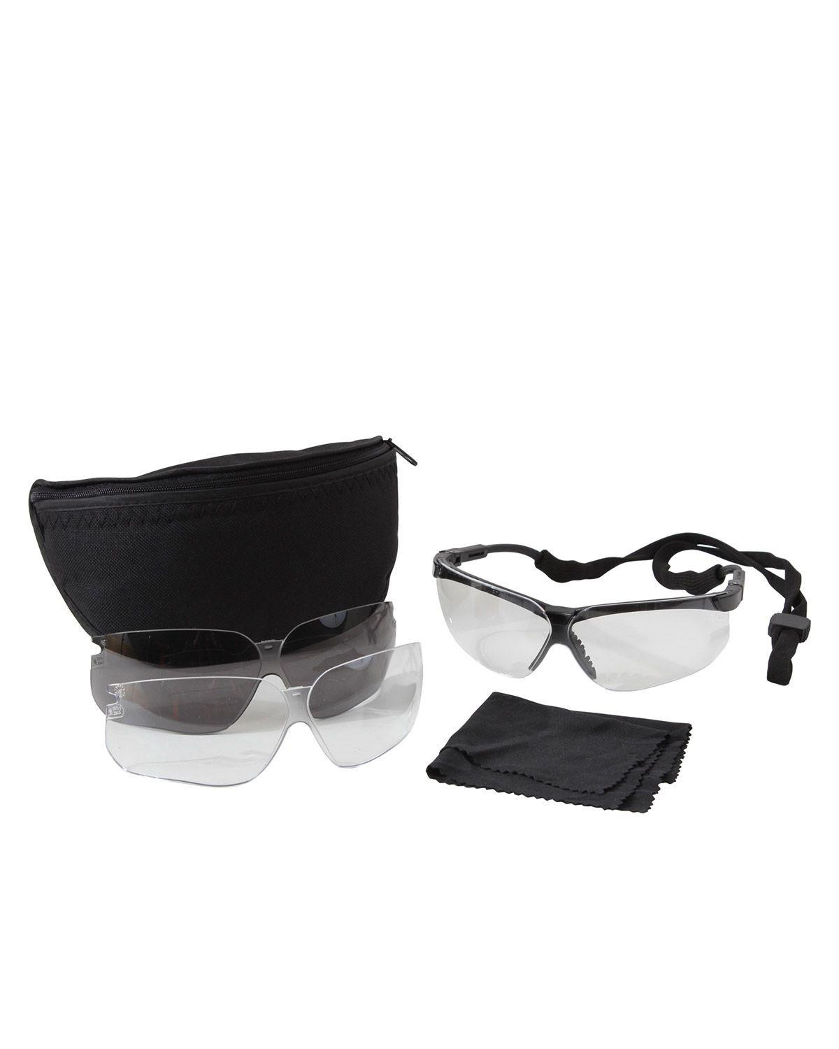 Image of   Rothco UVEX Brille Udstyr (Sort, One Size)