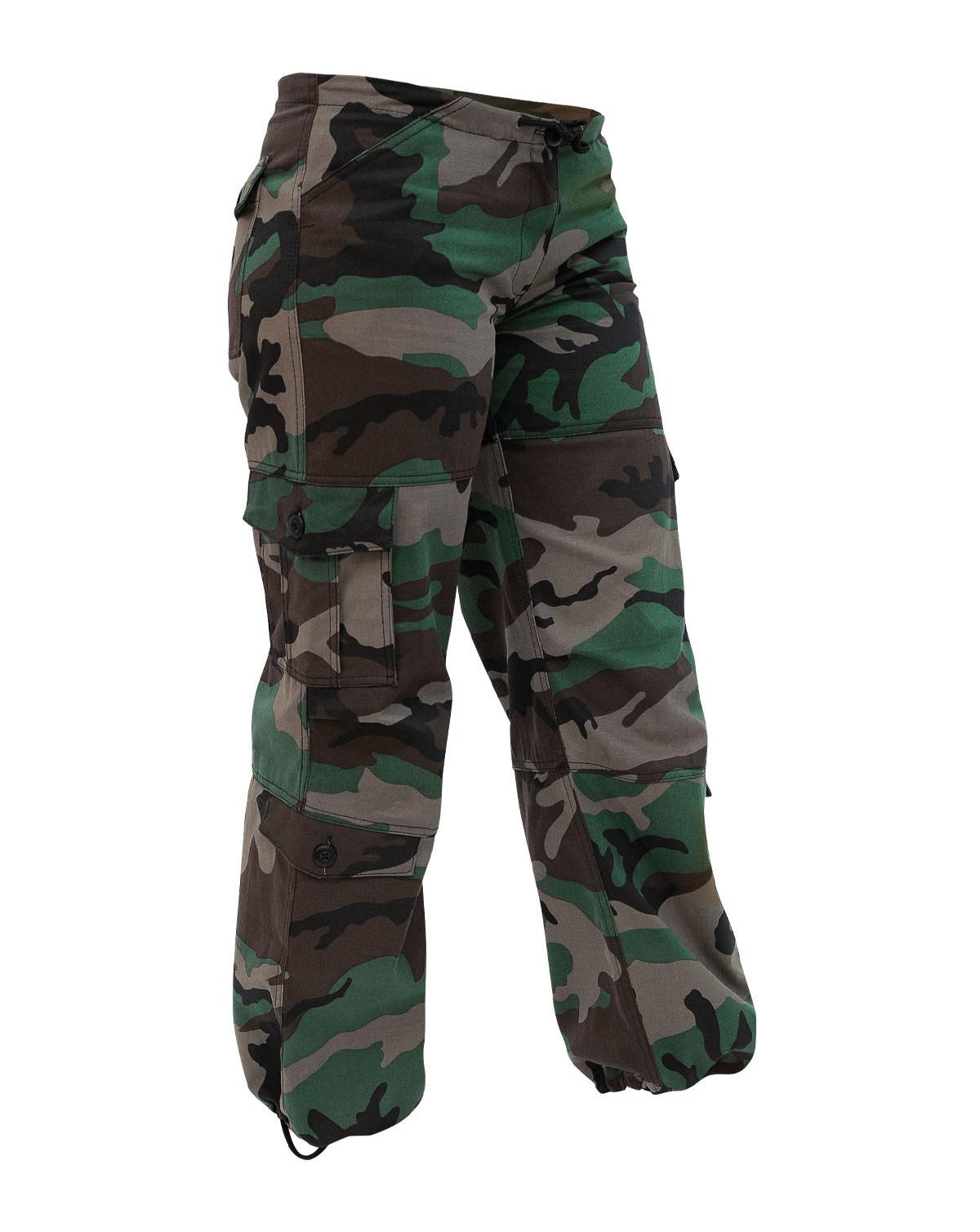 Camouflage bukser Vintages paratrooper Fatiges