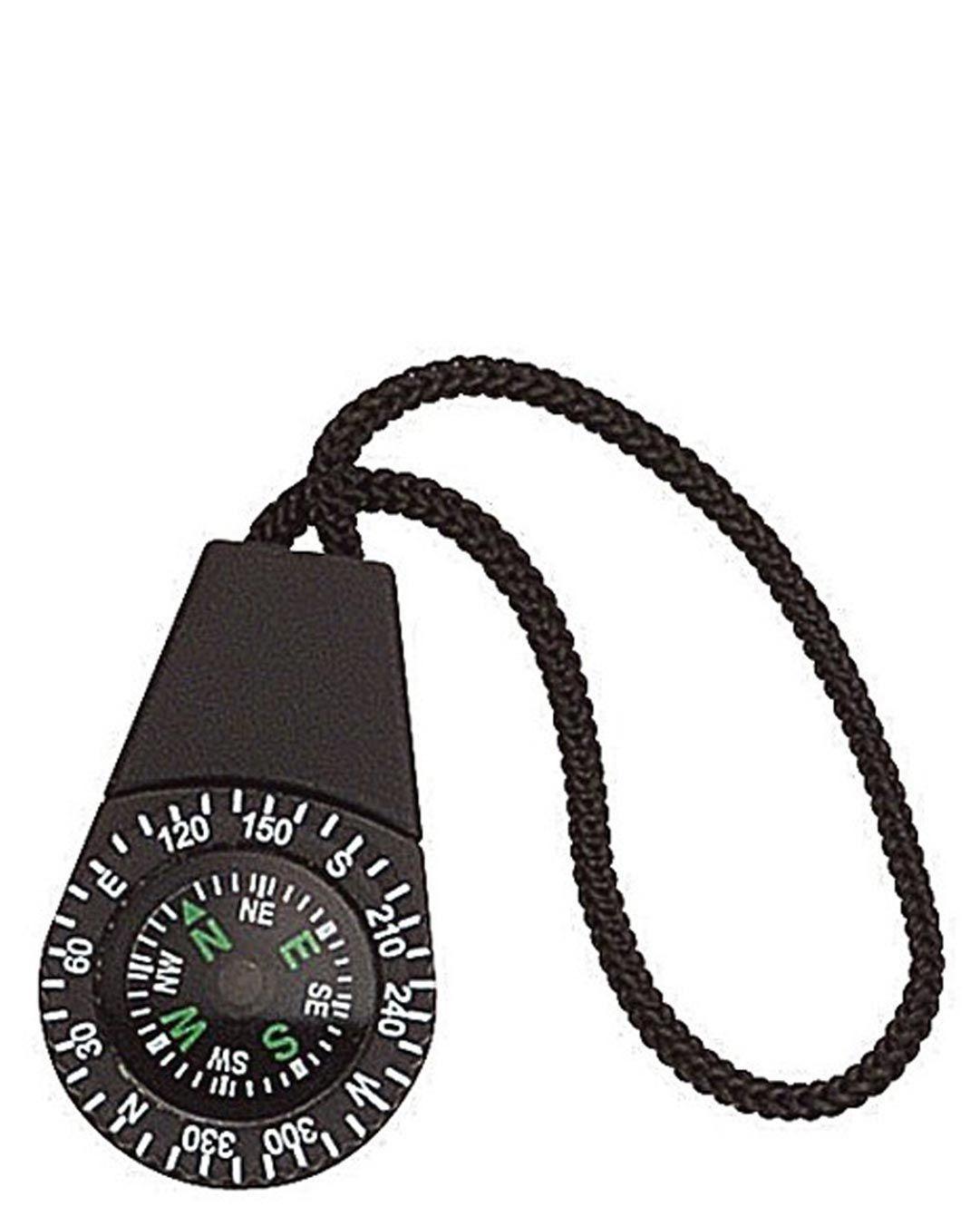Rothco Zipper Pull Kompas (Sort, One Size) (613902473614)