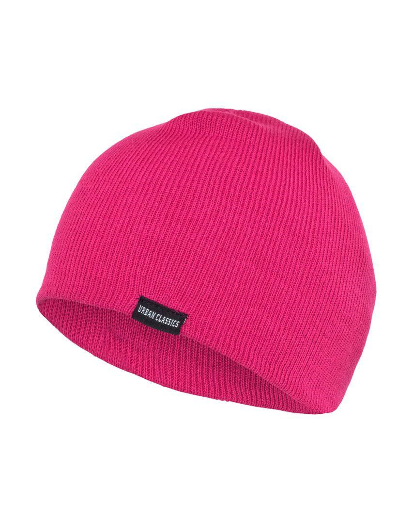 Image of   Urban Classics Basic Beanie (Pink, One Size)
