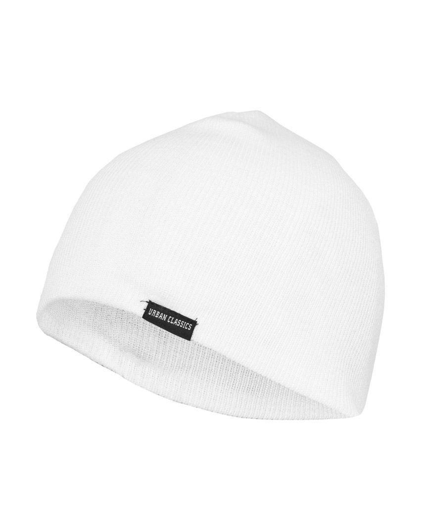 Image of   Urban Classics Basic Beanie (Hvid, One Size)