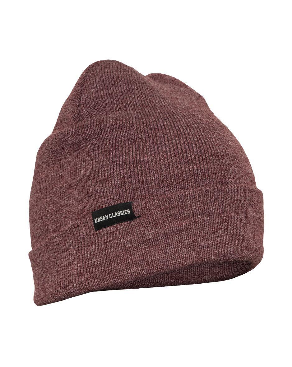 Image of   Urban Classics Basic Flap Beanie (Vinrød, One Size)