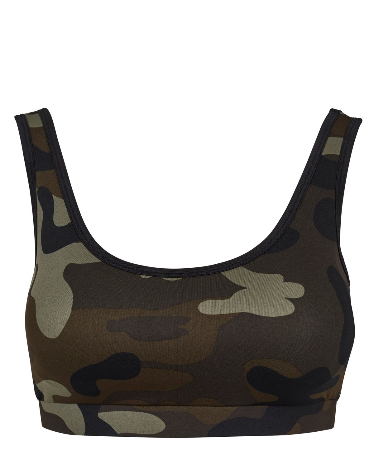 Image of   Urban Classics Camouflage BH (Woodland, L)