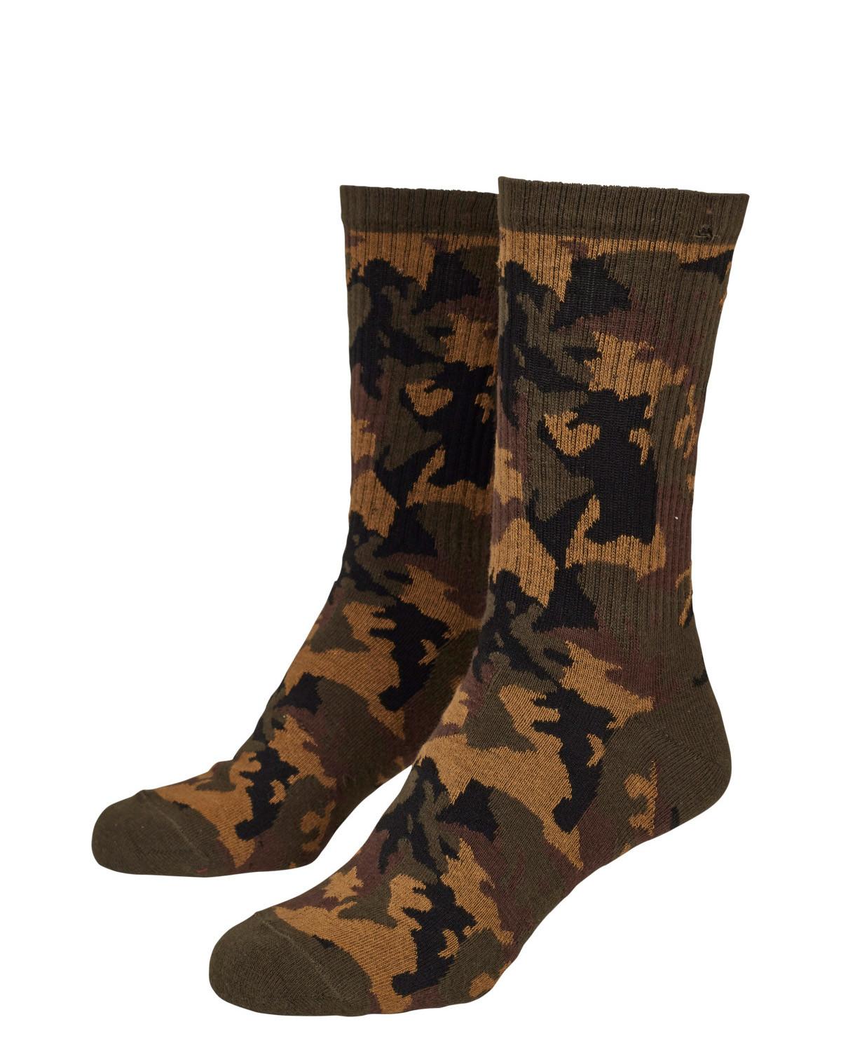 Image of   Urban Classics Camouflage Sokker 2-Pak (Woodland, 39-42)